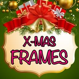 Xmas Photo Frames Booth & Christmas Stickers Art