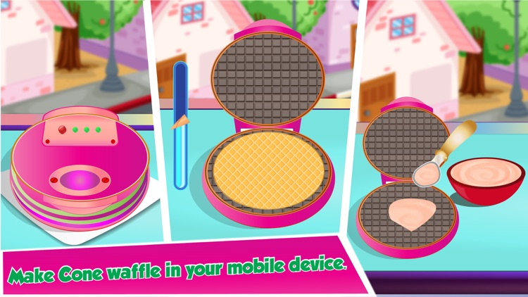 Rainbow Ice Cream Maker - Make Colorful Icecream screenshot-3