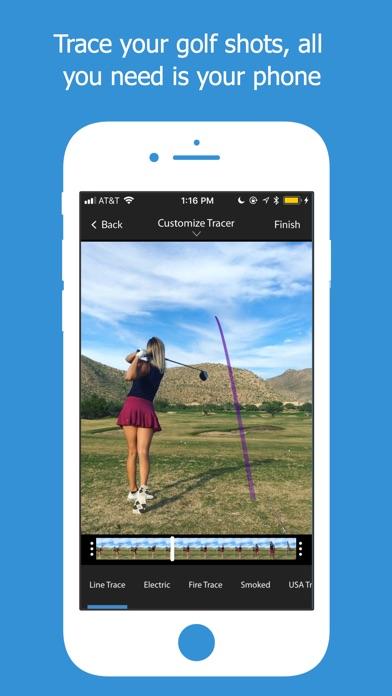 The Golf Tracer Screenshot
