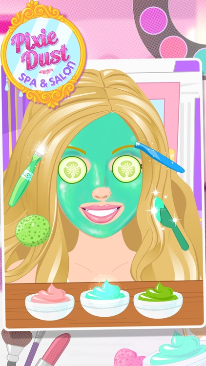 Pixie Dust Spa with Hair, Face, Makeup, Nail Salon