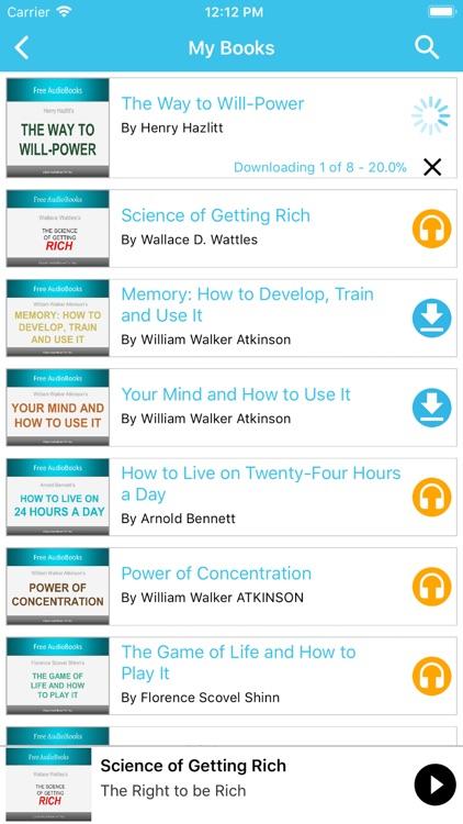 AudioBooks Pro - Best Books screenshot-3
