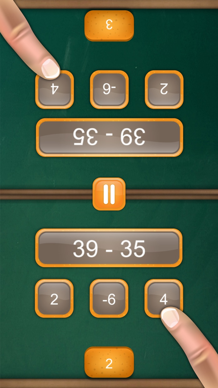 Math Fight: 2 Player Math Game Screenshot