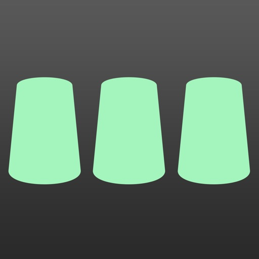 カップシャッフル - 動体視力テスト