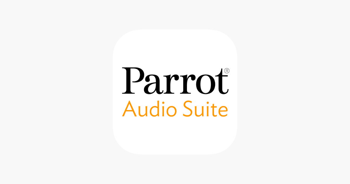 Parrot Audio Suite on the App Store