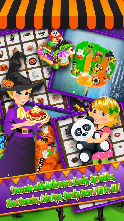 Halloween Theme Park Fair Food Maker Dessert Chef screenshot-3