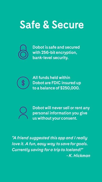 Dobot - Save Money. Reach Your Goals. screenshot-4