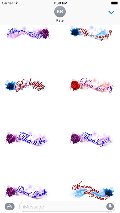 Love Messages Sticker - love stickers for iMessage screenshot-4