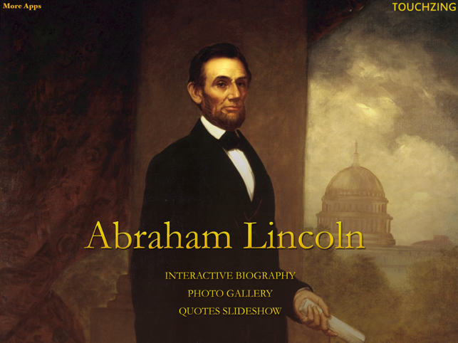 ‎Abraham Lincoln Interactive Biography Full Version