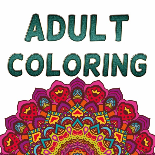 Adult Coloring Book Color Therapy Pages Stress By Narumon Kemthong
