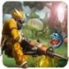 モンスタートップダウン3D :伝説版 - アドベンチャーとシューティングゲーム