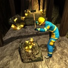 Cave Mine Construction 3D icon