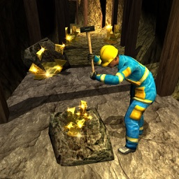 Cave Mine Construction 3D