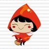 Red Riding Hood Stickers - iPadアプリ