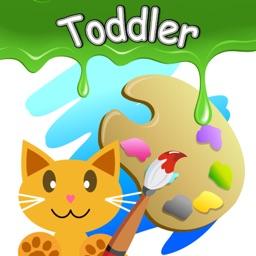 Infant coloring book kids toddler  QCat