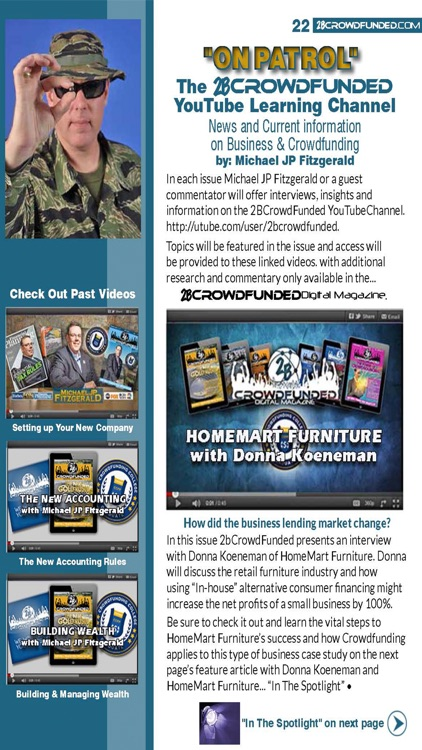2BCrowdFunded Digital Magazine screenshot-4