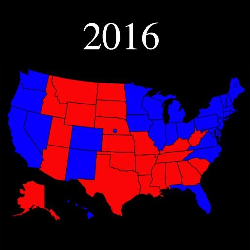 Election 2016 Electoral Maps