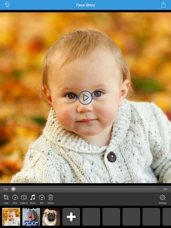Screenshot #1 for Face Story Pro - Change and morph face slideshow