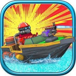 Jet Boat Fast Attack - Top 3D Water War Racing