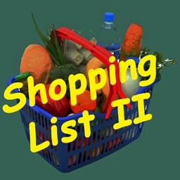 Shopping List II