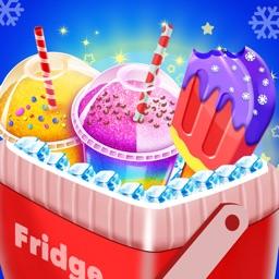 Frozen Ice Slushy & Popsicles