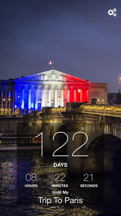 Paris Trip Countdown screenshot-1