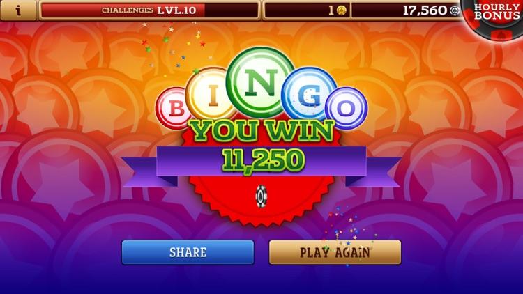 Classic Bingo Hall - Jackpot Fortune Casino screenshot-4