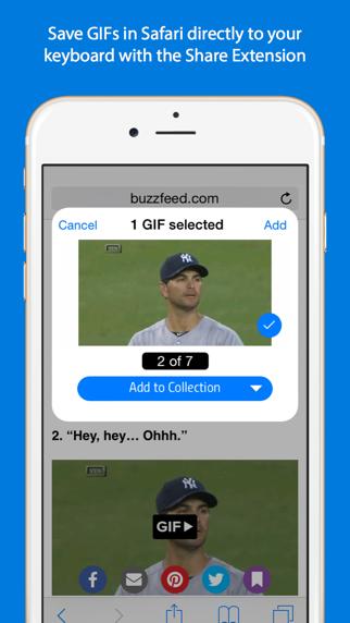 Screenshot for GIF Keyboard in Indonesia App Store