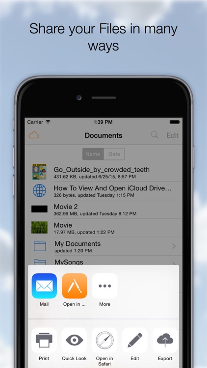 Cloud Opener - File manager screenshot-2