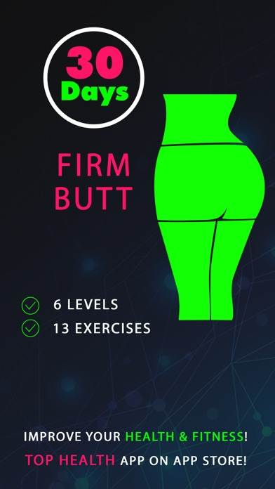 30 Day Firm Butt Fitness Challenges app image