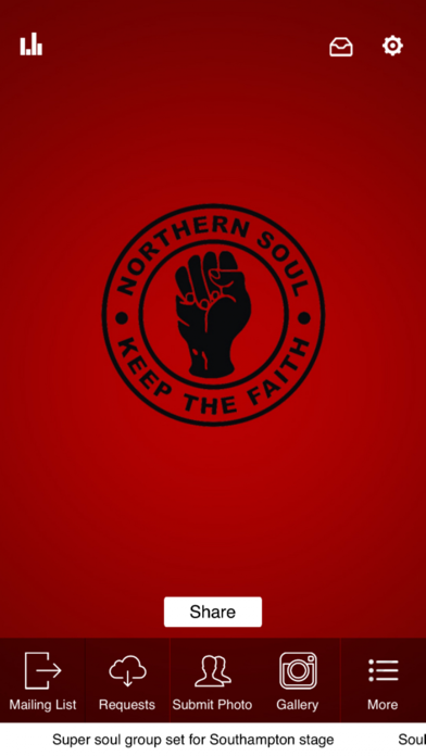 Official Northern Soul App screenshot one