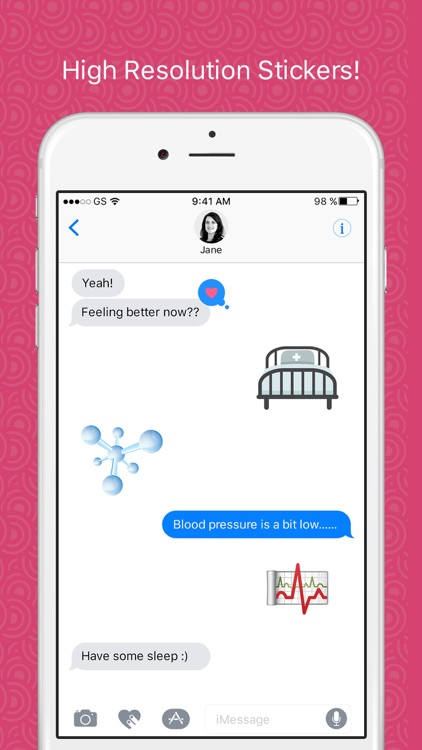 Healthmoji - Stickers for iMessage