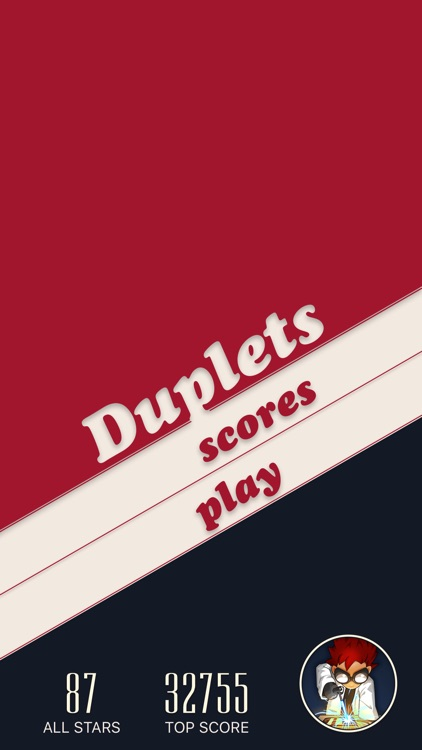 Duplets - a word puzzle game