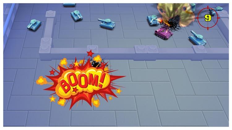 World of Hero: Laser Tanks Wars
