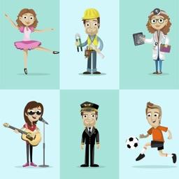 Learn Professions in Russian