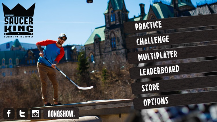 Gongshow Saucer King screenshot-0
