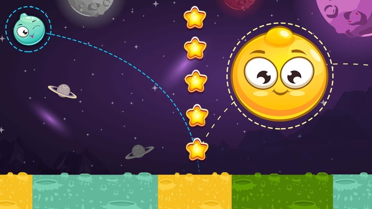 King of Bounce: Monster Jump on Color Tile in Space Travel screenshot-4