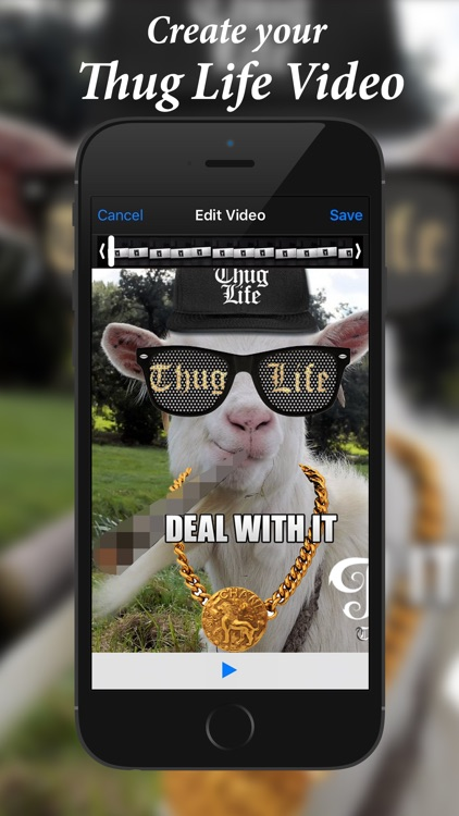 Thug Life Video Editor screenshot-1