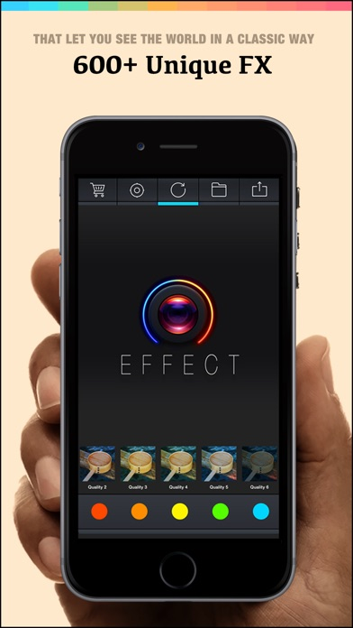 Effect 360 Pro - Best Photo Editor To Add Amazing Digital Art Stylish Camera Filters Effects Screenshot 5