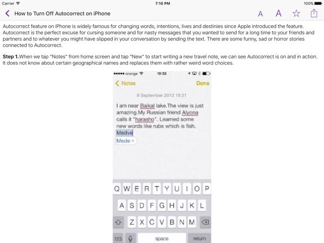 user guide for iphone ipad on the app store