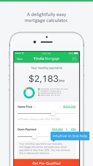 mortgage by trulia on the app store