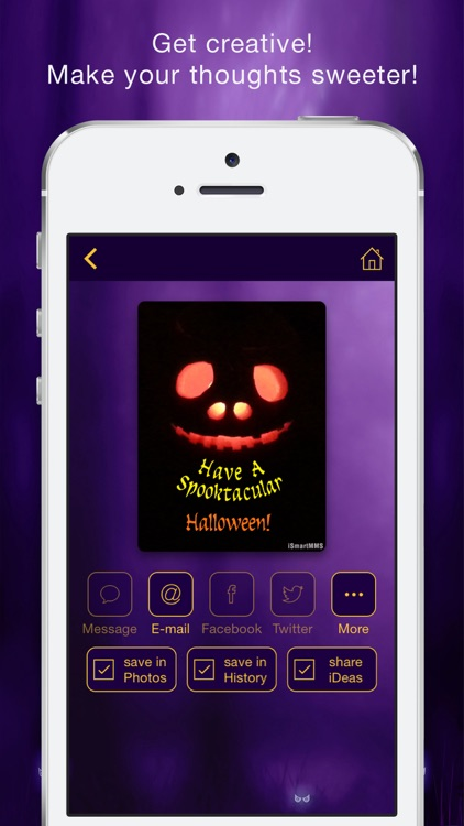 Halloween Cards Maker screenshot-4