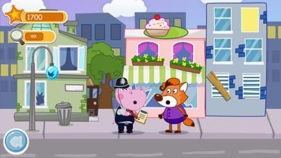 Patrulla policial de niñosCaptura de pantalla de2