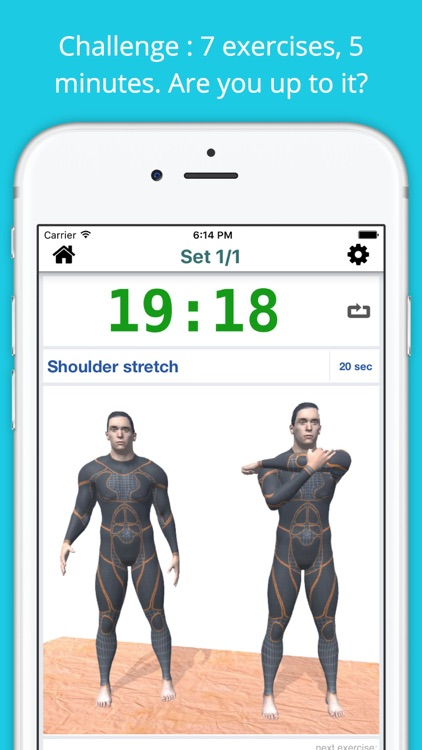 5 Min Stretch for Runners Workout Challenge SALE screenshot-0