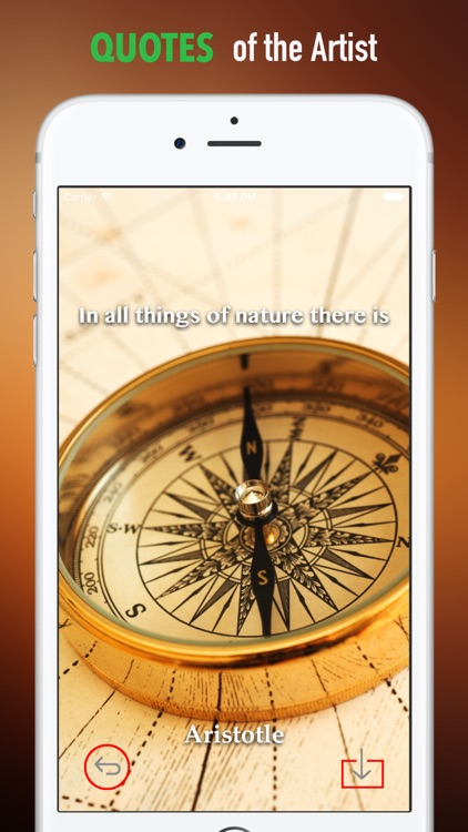 Compass Wallpapers HD: Quotes Backgrounds screenshot-3