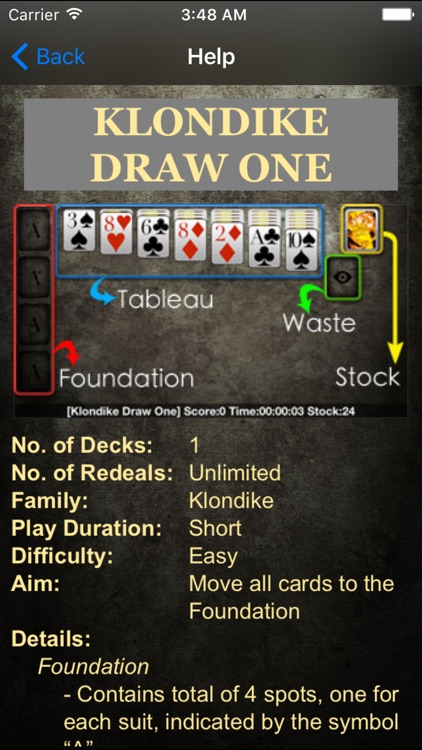 Solitaire * screenshot-4