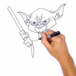 How To Draw - Learn to draw pictures for star wars edition and practice drawing in app
