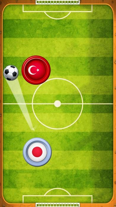 エアホッケー トーナメント - サッカーゲームのスクリーンショット1
