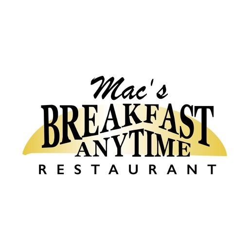 Mac's Breakfast Anytime