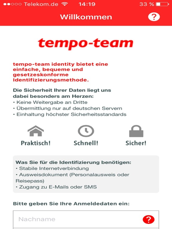 iPad Image of tempo-team identity