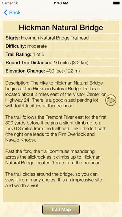 Hiking Capitol Reef National Park screenshot-4